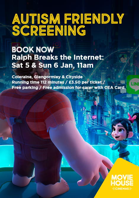 Autism Friendly Ralph Breaks The Internet